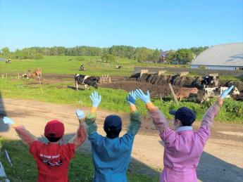 牛と人との接点を大事にしています。高田牧場で酪農を始めませんか?☆未経験の方大歓迎!