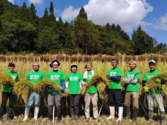 米どころ魚沼★きれいな自然の中で、日本一のおいしいお米を作りましょう【有機JAS認定米】有機栽培・無農薬でこだわりのお米を作っています