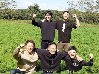 『未来農業づくり』 私たちが目指すのものは未来につながる 「今」をクリエイトする仕事です。