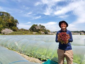 新規就農した若き経営者が奮闘中!共に汗をかき、苦労と喜びを共有できる新たなメンバーを募集します!