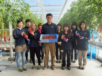 農業にアツく。日本をつよく。私たちは農業で日本の未来を変えられると信じています。