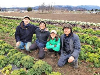 \未経験者歓迎/東京都内で有機農産物の地産地消。大都会東京で新しい農業の形を作りましょう!都心から畑まで車で1時間。生産から販売まで自社で一貫して行う革新的なチャレンジに是非参加して下さい!\幹部候補募集!/