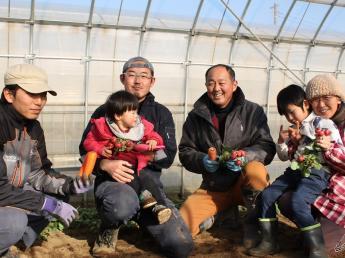 美味しい食べ物を作れる私たちは強い!!アットホームな市川農園で有機野菜を作りませんか?