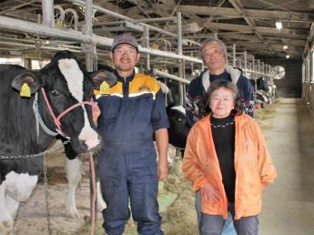 牛が好きな方大募集!食育にも取り組む酪農牧場で働きませんか?\限定1名・正社員募集/