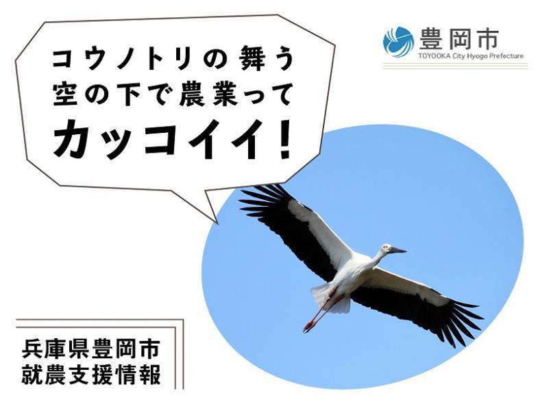 兵庫県豊岡市で、あなたの農業をカタチにしてみませんか!?