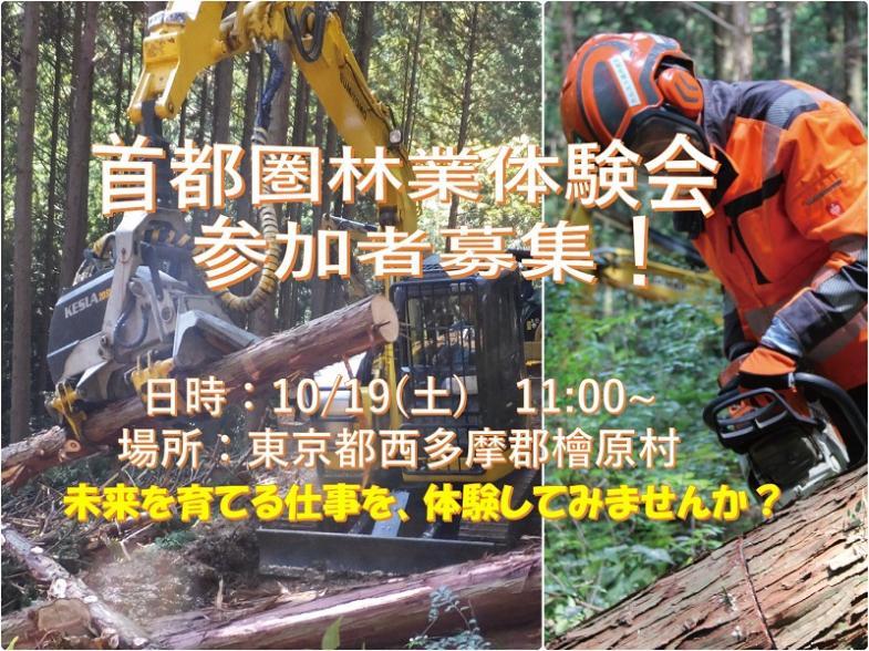 林業ってどんなお仕事?いろんな疑問は体験を通して解決しちゃいましょう♪