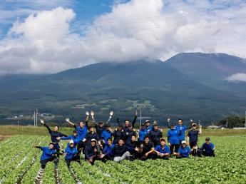 """=2022年新卒生対象求人=農業をもっと楽しく。野菜をもっと美味しく。みんなに喜ばれる農場を創る。 こんな気持ちに共感して下さる方はいませんか? 従業員を大切にする会社で""""自分らしく""""働きましょう!"""