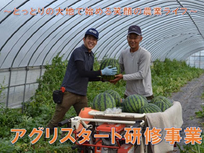 県の担い手育成機構が徹底支援!~自然豊かな鳥取県で学べる農業~