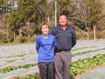 昨年からスタートの農園です★一緒に農業にチャレンジしていただける方を募集いたします!