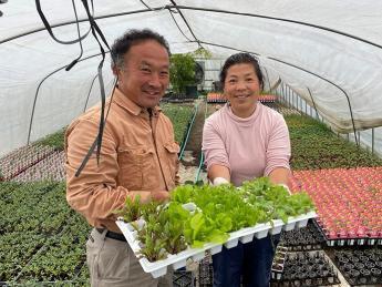 \正社員・アルバイト同時募集!大阪梅田まで車で30分の都市近郊型農業/ 「水蒸気栽培」など最新技術を用いた野菜とハーブ栽培を一緒に行いませんか?