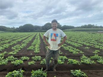 「農業が楽しい!」そう思えることが1番! 一緒に旬の野菜づくりに取り組みませんか?