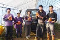 ◆吉田農園◆新規就農者に負けないハングリー精神を持って営農に取り組む農家のせがれ
